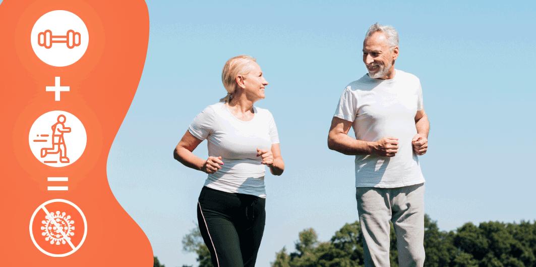 Chiar și o singură sesiune de exerciții fizice poate reduce efectele infecției cu COVID-19